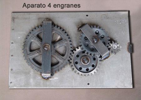 Aparato 4 Engranes