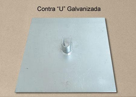 "Contra ""U"" Galvanizada"
