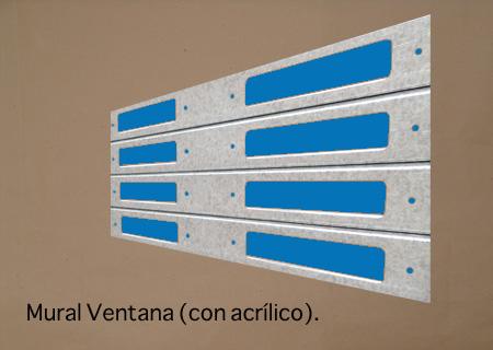 Mural Ventana (Con Acrílico)
