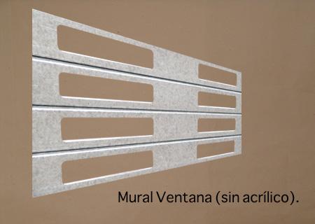 Mural Ventana (Sin Acrílico)